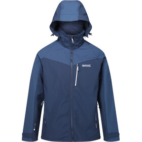 Regatta Hewitts VI Softshell Jacket Men, nightfall navy/brunswick blue
